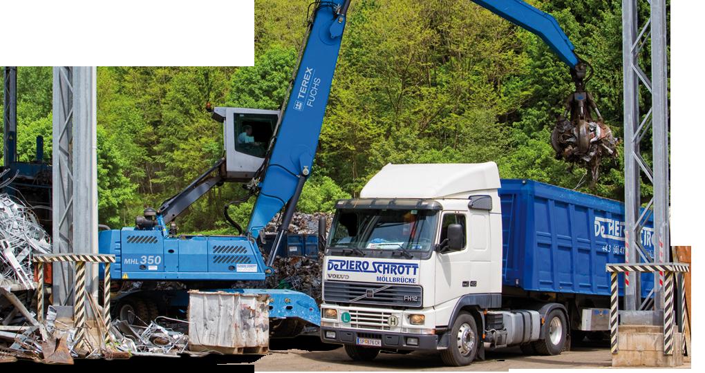 De Piero Schrott GmbH – Metall und Recycling, Schrottplatz – Impressum