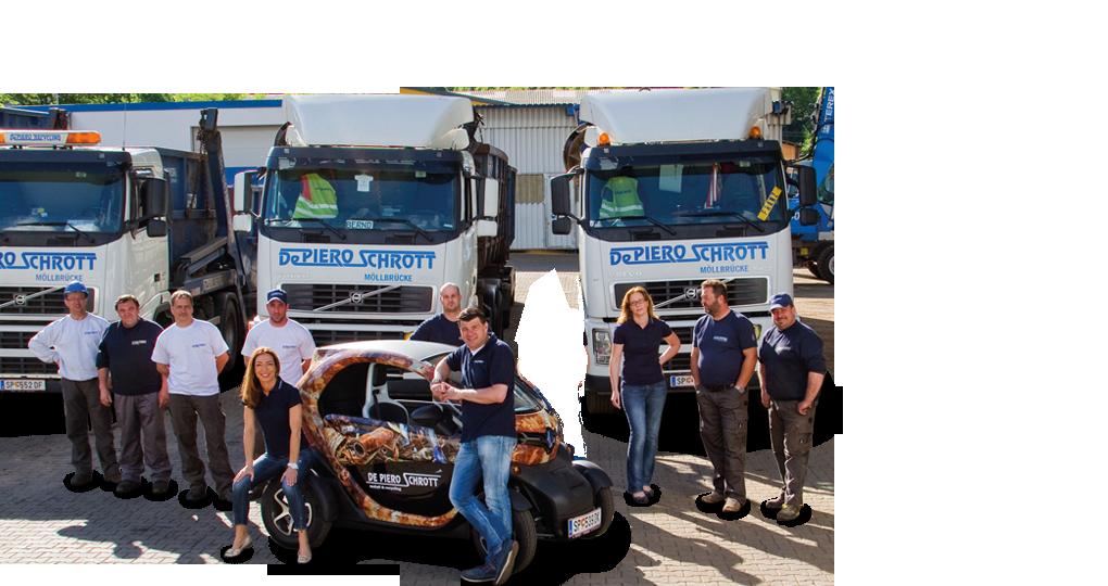 De Piero Schrott GmbH – Metall und Recycling, Schrottplatz – Einblicke