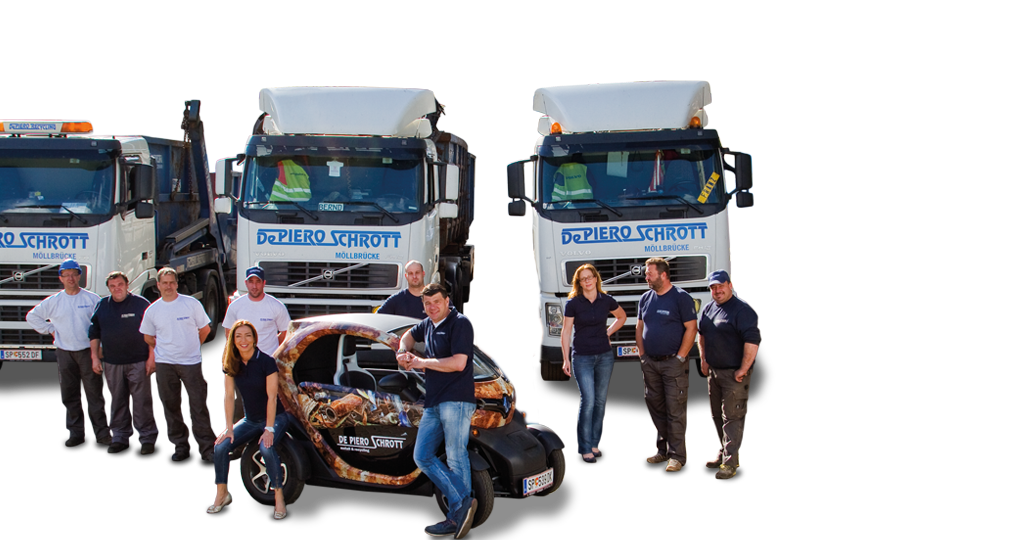 De Piero Schrott GmbH – Metall und Recycling, Schrottplatz – Kontakt