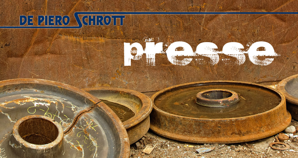 De Piero Schrott – Presseecke