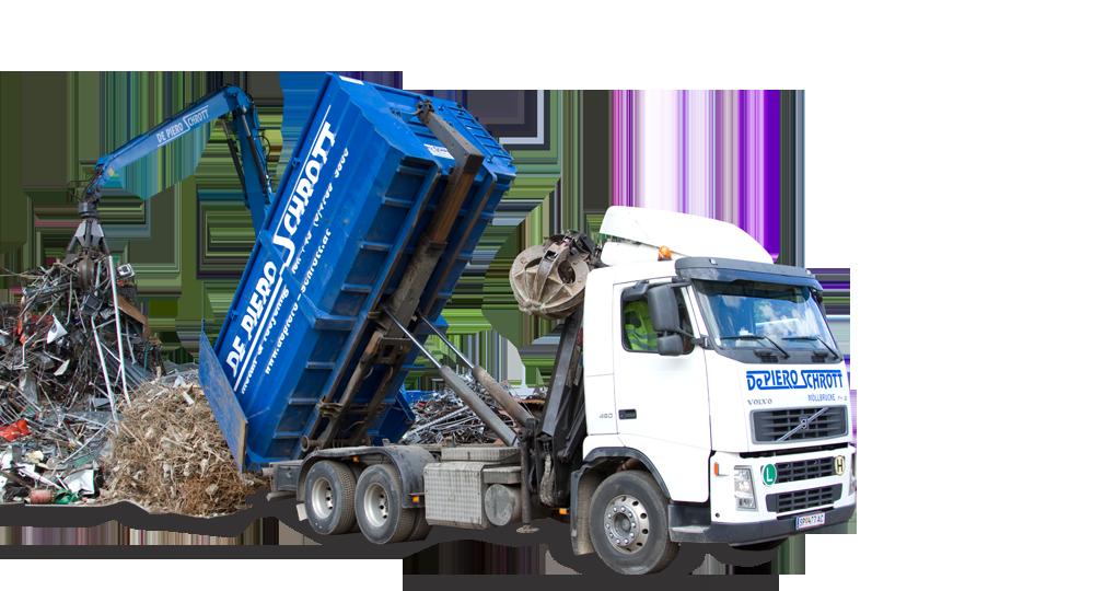 De Piero Schrott GmbH – Metall und Recycling, Schrottplatz – Auto adé – Autoverschrottung